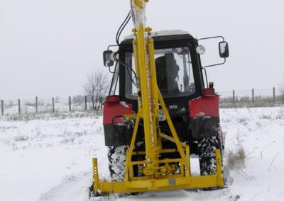 ГСТ-1000 в транспортном положении