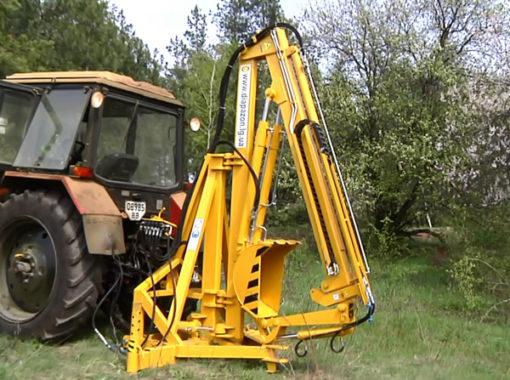 Экскаваторный ковш тракторный ЭКТ-012