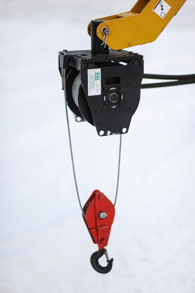 Устройство гидравлическое для погрузки и разгрузки УЛ-1,0